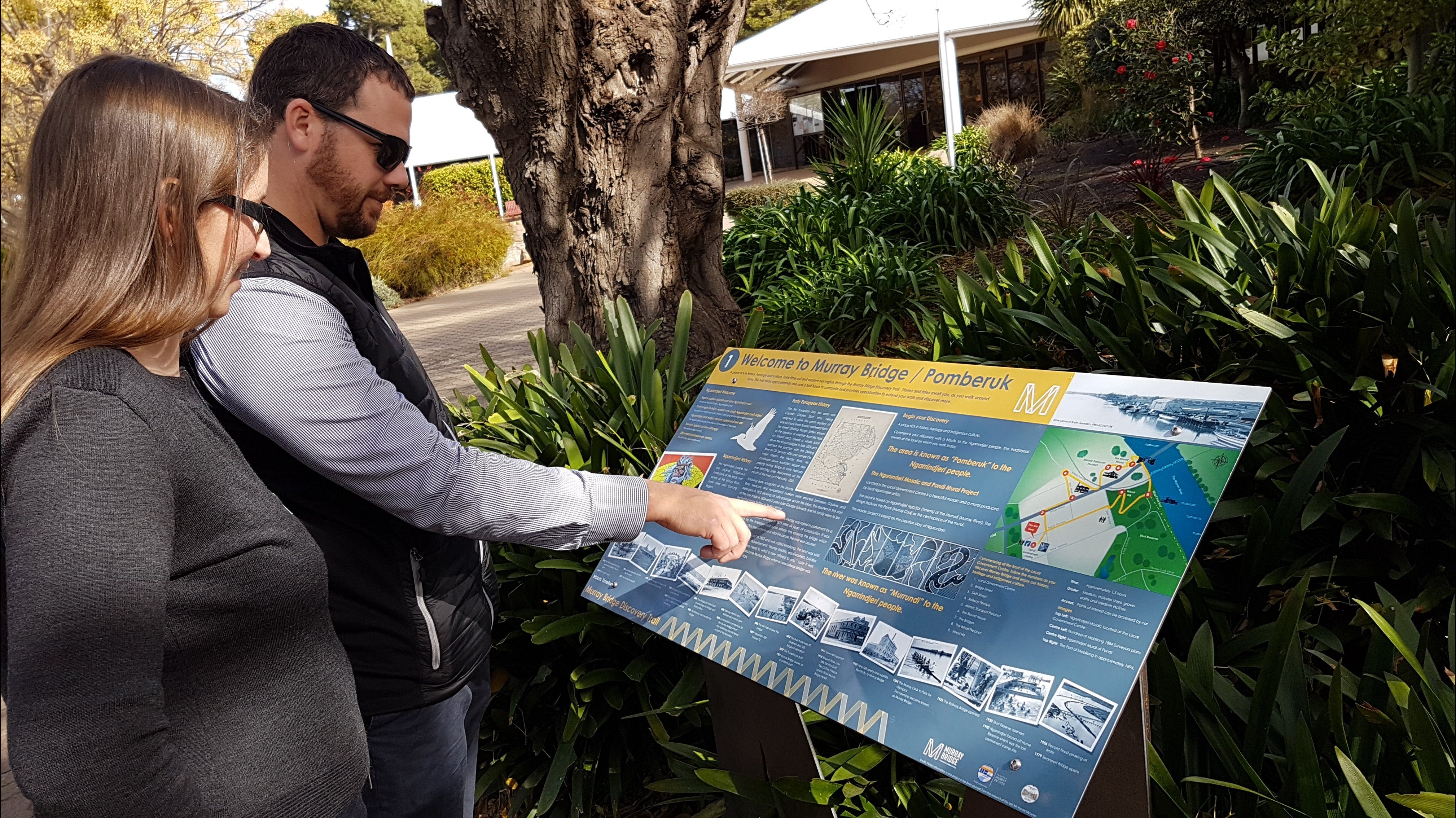 The Murray Bridge Discovery Trail - Accommodation Fremantle