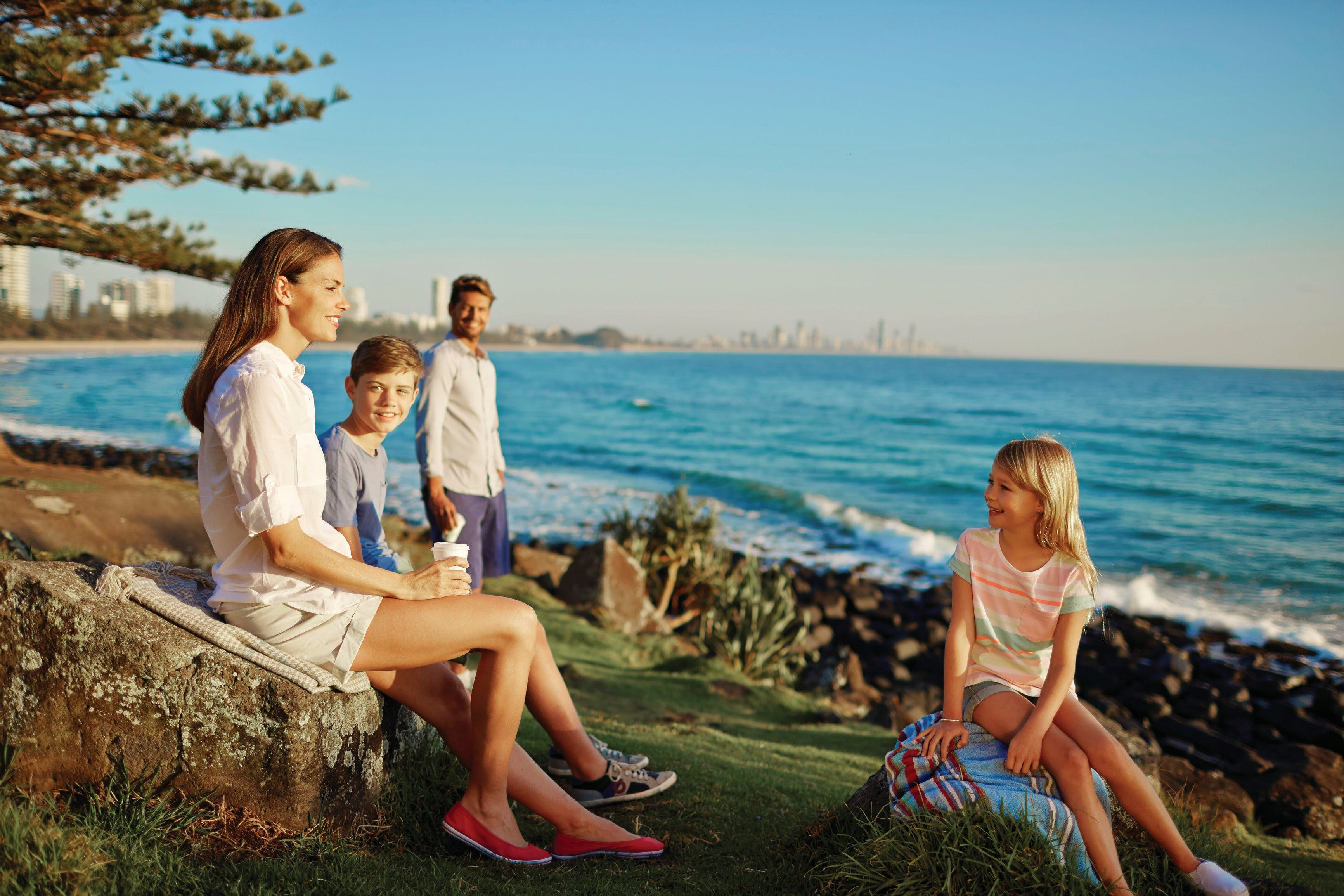 Oceanview Walk Burleigh Head National Park - Accommodation Fremantle