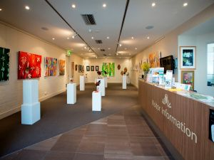 Australian National Botanic Gardens Visitor Centre Gallery - Accommodation Fremantle