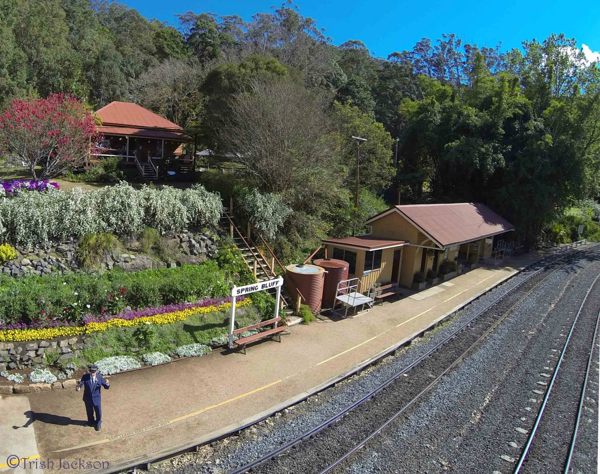Spring Bluff Railway Station - Accommodation Fremantle