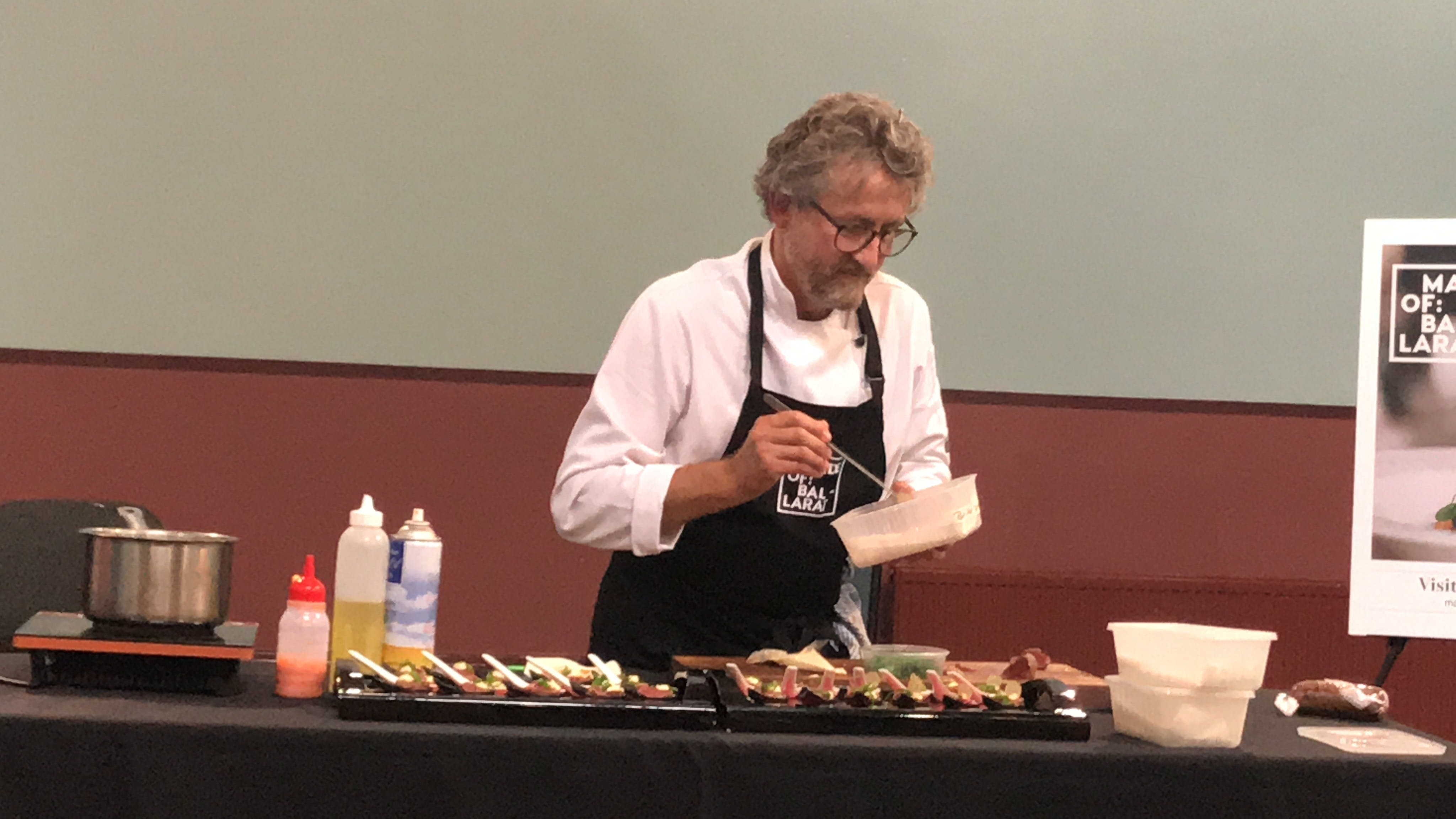 Masterclasses with Peter Ford Catering Inglenook Dairy - Accommodation Fremantle