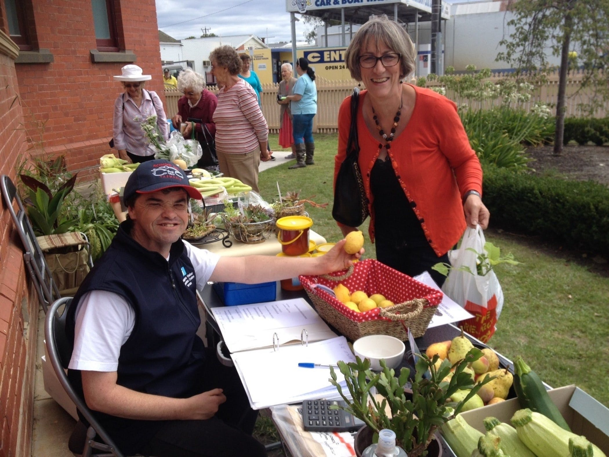 Yarram Courthouse Garden Produce Market - Accommodation Fremantle