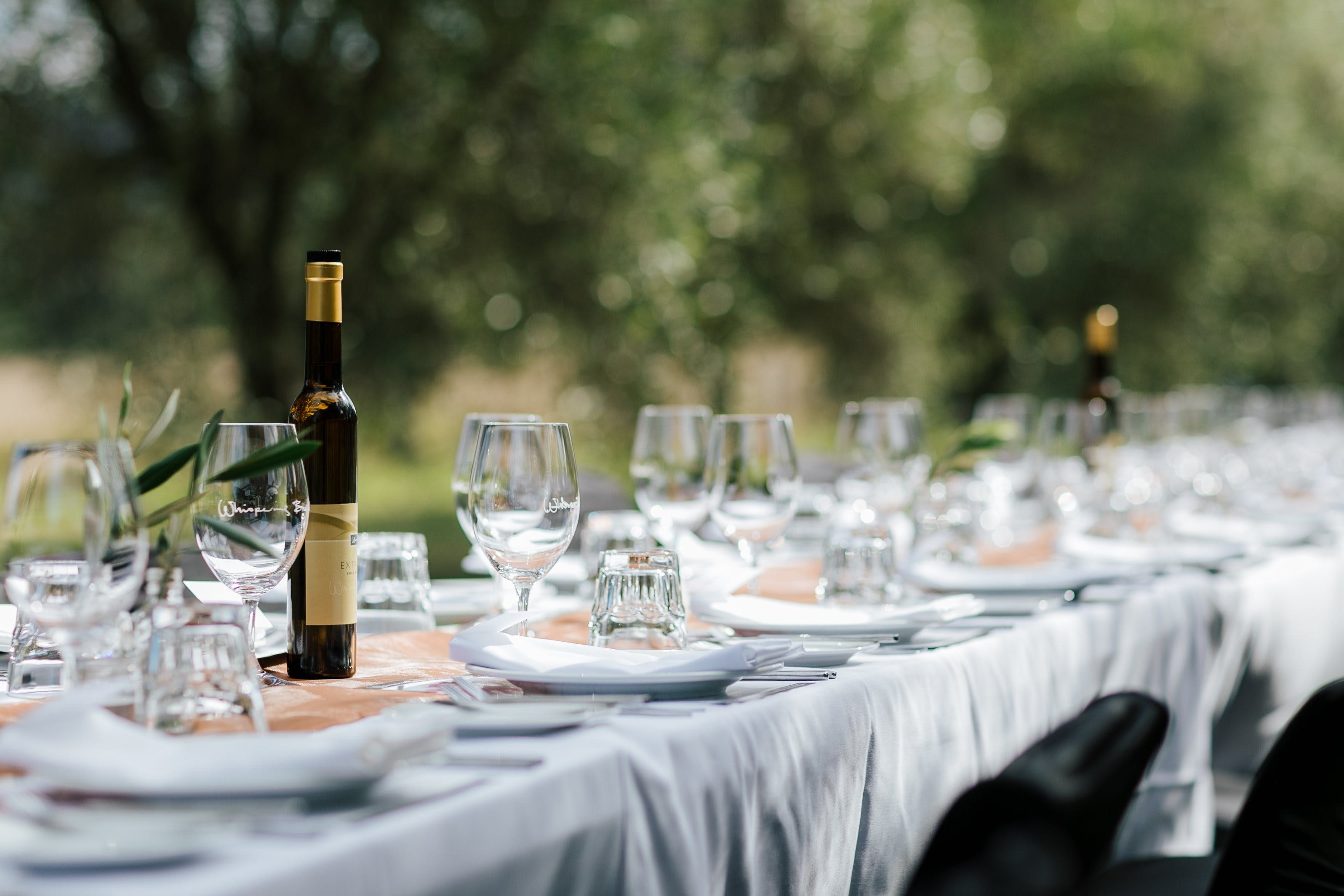 Whispering Brook Olive Long Table Luncheon - Accommodation Fremantle