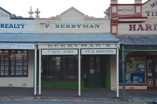 Berryman's Cafe and Tearooms - Accommodation Fremantle