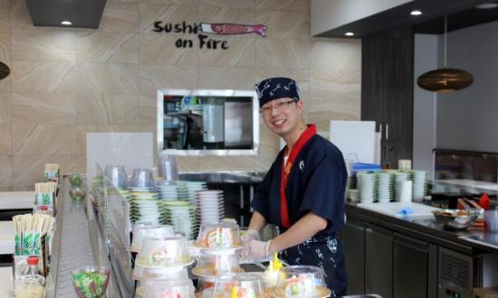 Sushi On Fire - Accommodation Fremantle