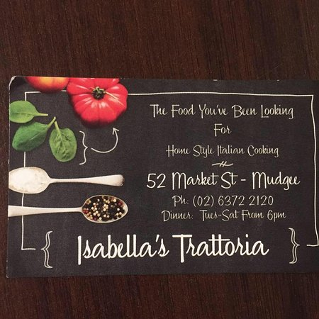 Isabella's Trattoria - Accommodation Fremantle