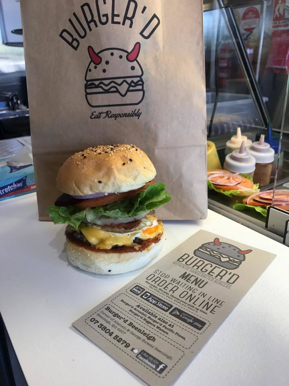 Burger'd - Accommodation Fremantle