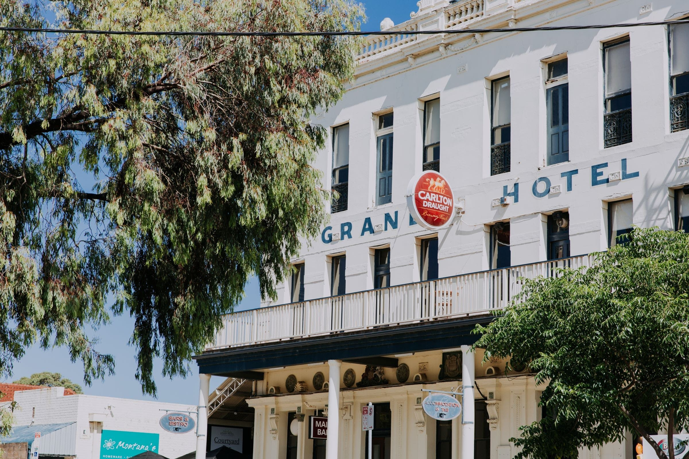Grand Hotel Portarlington - Accommodation Fremantle