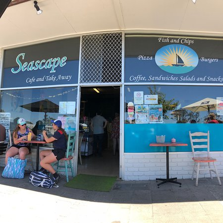 Seascape Cafe and Takeaway - Accommodation Fremantle