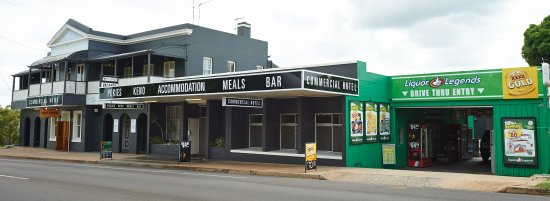 Commercial Hotel Day Dawn Restaurant - Accommodation Fremantle