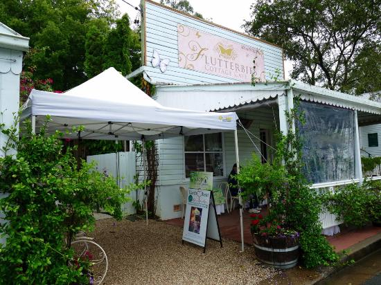 Flutterbies Cottage Cafe - Accommodation Fremantle