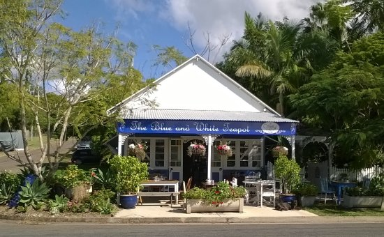 The Blue and White Teapot Cafe - Accommodation Fremantle