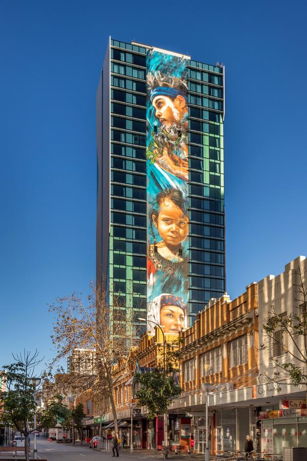 Art Series - The Adnate - Accommodation Fremantle