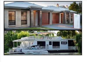 Renmark River Villas and Boats  Bedzzz - Accommodation Fremantle
