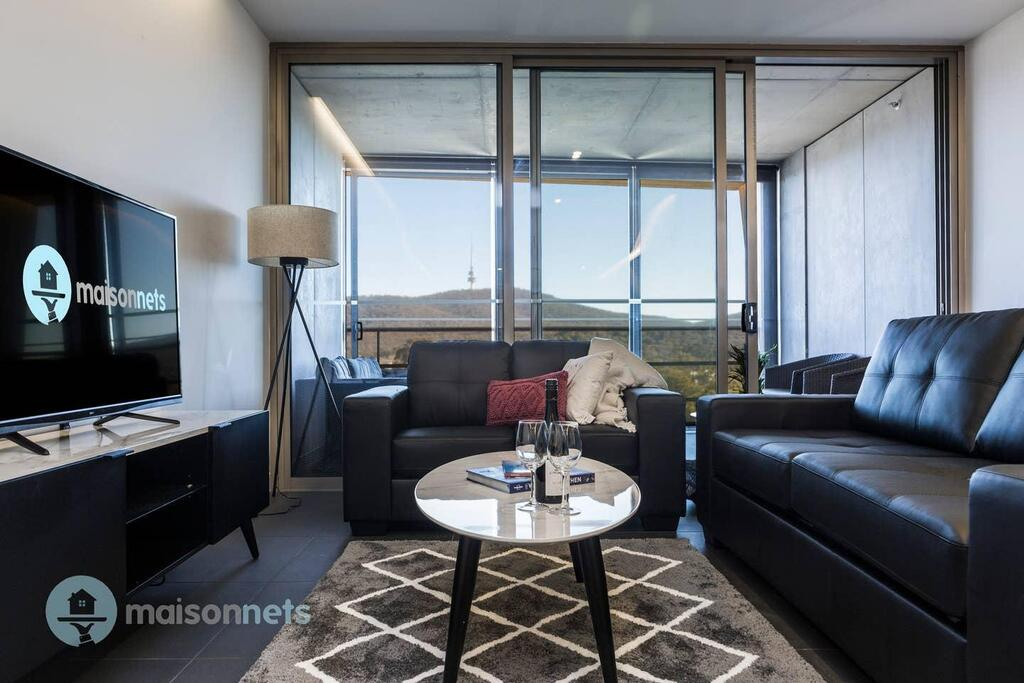 1 Bedroom Apt With Parking Walk to ANU - Accommodation Fremantle